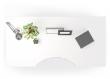 Prima Hæve/sænkebord - Hvid 180cm