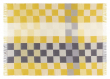 Plain Beat Plaid, Uld, All Yellow, 130x190