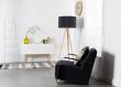 Zuiver High On Wood Skænk - Hvid - B:120 - Skjenk i klassisk design med moderne hvit høyglans og eikeben