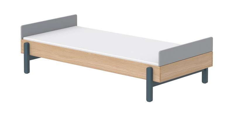 FLEXA Popsicle Børneseng m. headboard- Blueberry, 200x90