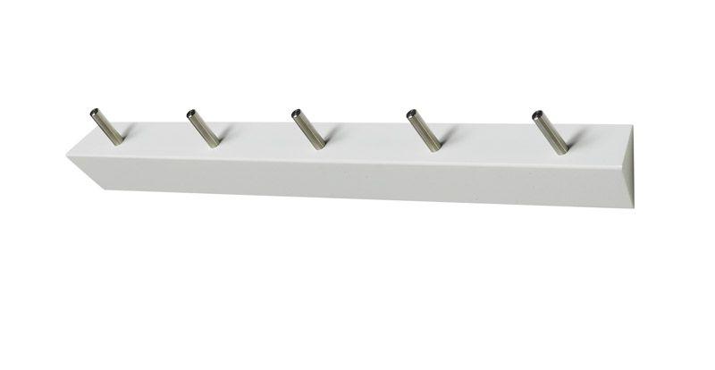 Hoigaard - Milano KR5 Knagerække - hvid