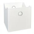 Opbevaringskasser - Hvid - Hvide tekstilkasser - 9 stk.