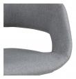 Kline Spisebordsstol m/centerben - Lysegrå stof