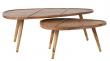 Dutchbone Sham Sofaborde - Sæt af 2 - Sofabordssæt i sheeshamtræ