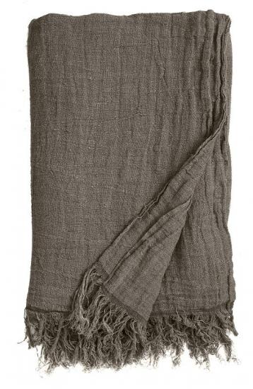 Nordal - Sengetæppe 270x270 cm - Grå - Sengetæppe i grå