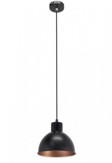 Cozy - Kobber Pendel - Sort - Sort metalpendel