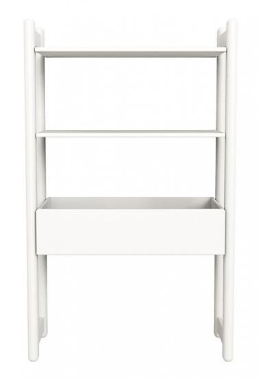 Flexa Shelfie Midi Reol - hvid - Combi D med 1 organizer