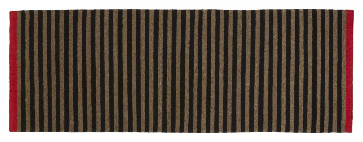 Fabula Living - Rosemary stribet Løber - 90x250 - Håndvævet Kelim 90 x 250 cm