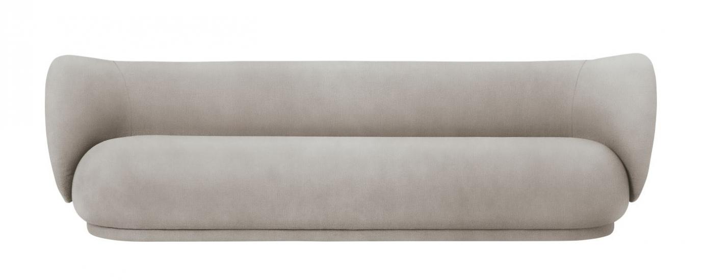 Ferm Living - Rico 4-pers. Sofa - Sand