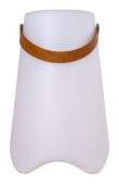 Bristol LED Vinkøler m. strop - Hvid