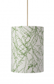 Ebb&Flow - Lampeskærm, branches, grøn, Ø30