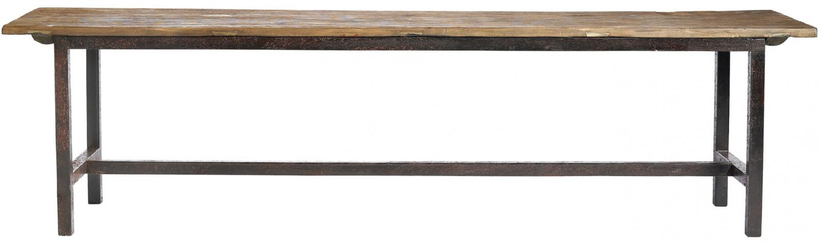 Nordal - Raw Bænk - Længde 170 cm - Natur - bænk