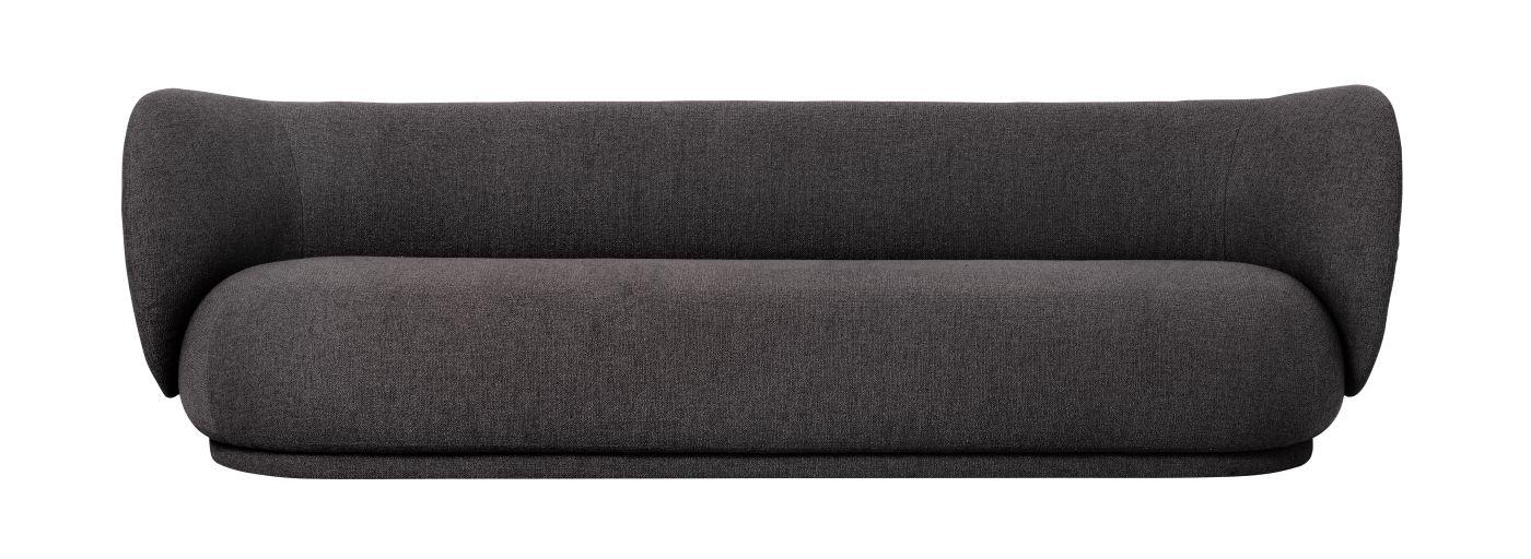 Ferm Living - Rico 4-pers. Sofa - Warm grey bouclé