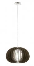 Cossano - Ø45 Pendel - Brun - Rund brun pendel - Ø45 cm