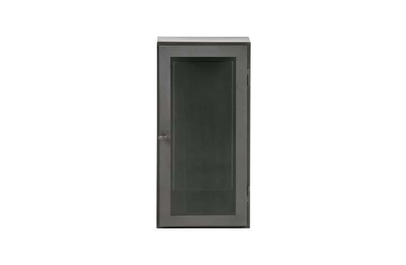 Manta Hængeskab i grå metal - L