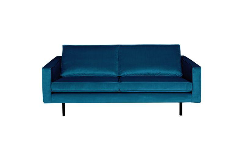 Rodeo 2,5 pers. sofa velour - Blå
