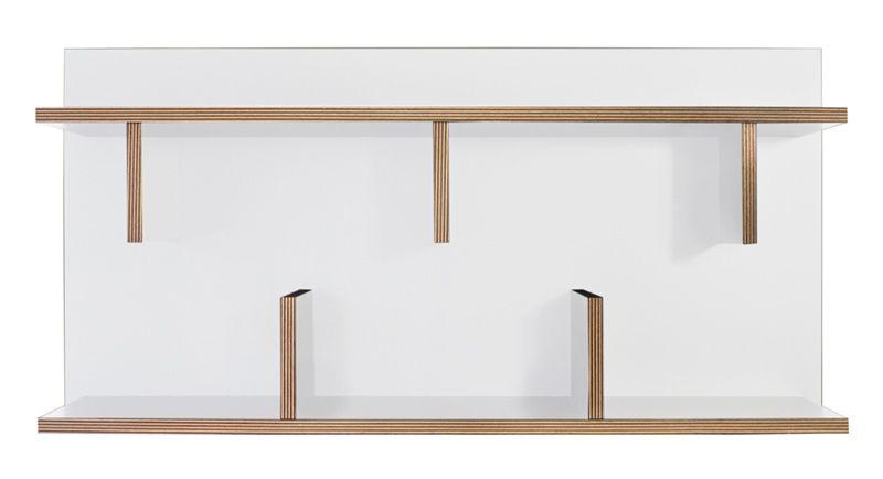 Bern Vægreol - Stilfuld vægreol i hvid