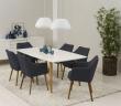 Amada Spisebordsstol - Mørkegrå