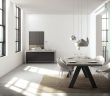 Temahome Apex Spisebord - Grå Beton-look 200x100