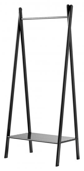 Noble Tøjstativ - Sortolieret Bambus