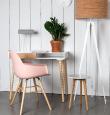 Zuiver - Albert Kuip Spisebordsstol armlæn - Rosa