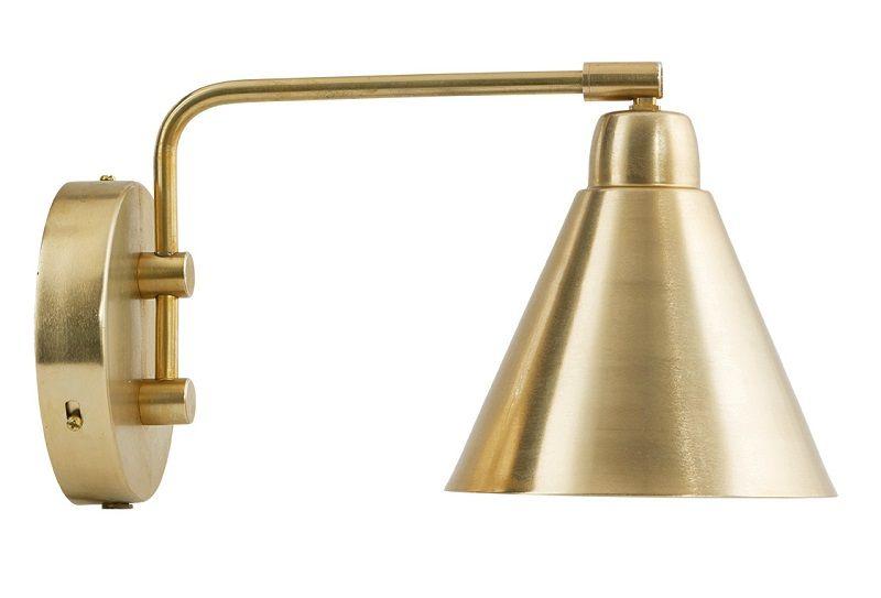 House Doctor Game Væglampe - Messing - Væglampe i messing