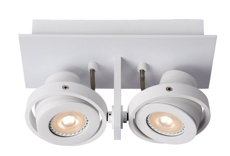 Zuiver - Luci 2 Spotlampe - Hvid - Spotlampe i hvid med 2 spots