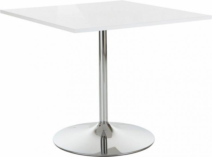 Trent Spisebord 90x90 - Hvid