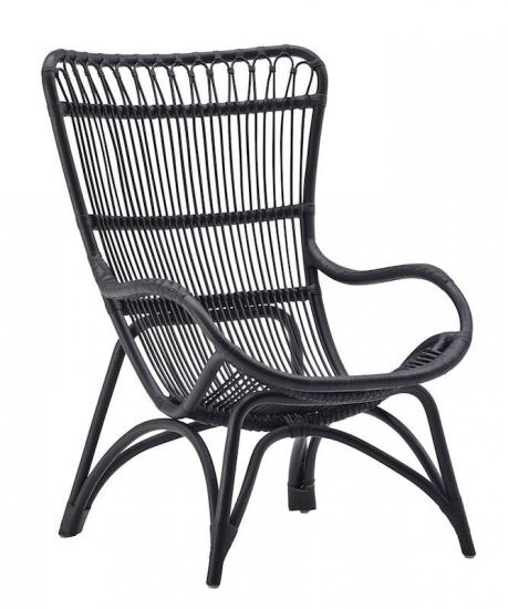 Sika-Design - Monet Kurvestol - Kurvestol i sort