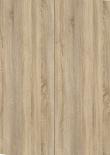 Prima Skrivebord - Lys træ 120cm m/hvide ben
