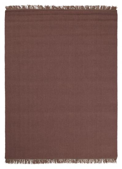 Linie Design Une Uld tæppe, rose, 140/200