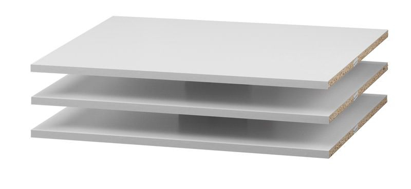 Verona Ekstrahylder - Hvid - Smal