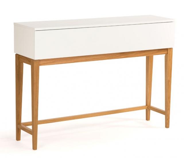 Woodman - Blanco Konsolbord - Hvid - Hvidt konsolbord