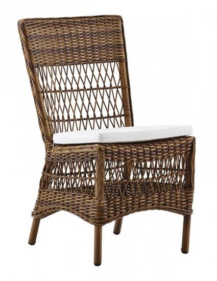 Sika-Design Marie Havestol - Brun m. Hvid hynde - Georgia Garden