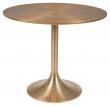 Hypnotising Spisebord - Guld, Ø92