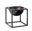 by Lassen - Kubus Bowl 14x14 - Brændt kobber