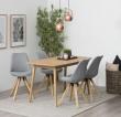 Fryd Spisebordsstol - Lys Grå stof