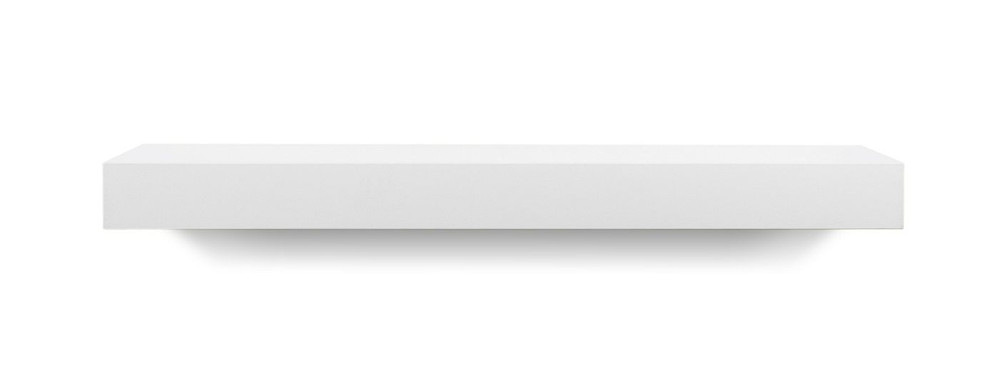 Temahome Balda Svævehylde, mat hvid, 60x22