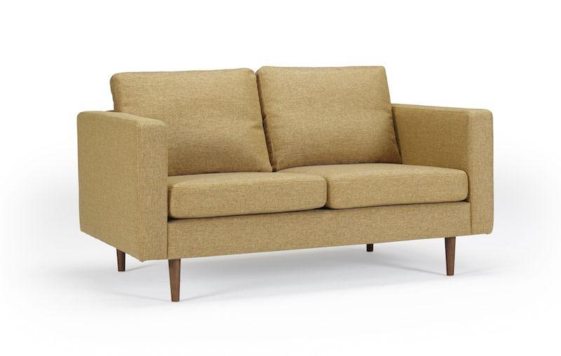Kragelund Otto 2-pers. sofa Gul