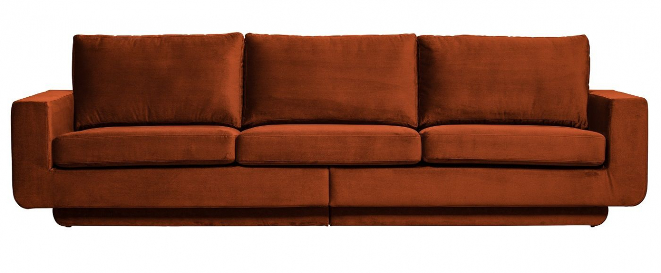 Fame 3-pers. Sofa - Rust Velour