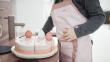 FLEXA Toys Fødselsdagskage, sæt m. 25 stk
