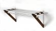 Hoigaard - HH-6 Milano Hattehylde - valnød - 68 cm