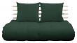 Shin Sano Futon Sofa, Grøn/Natural