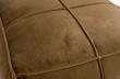 Honey Puf 60x60 i velour - Honning gul