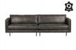 Rodeo Classic 3 pers. sofa i sort øko-læder