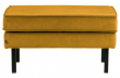 Rodeo Puf 84x54 m. velour - Okker