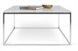 Gleam Sofabord - Hvid - 75 cm
