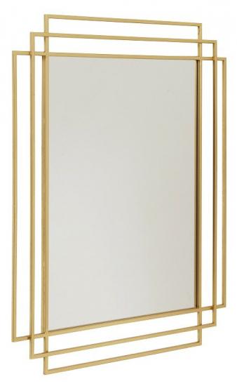spejl Nordal   Square Spejl   Metal   Gratis fragt spejl