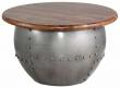 India Sofabord Metal og mangotræ