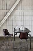 Nordal - Spisebord - Mørkebrun L